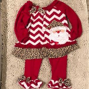 Leopard Santa Outfit